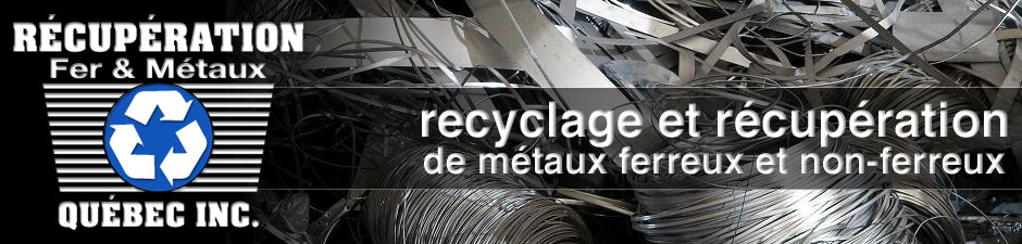 Coordonn es recyclage m tal qu bec rfmq recuperation fer m taux quebec - Fer et metaux ...